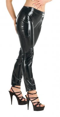 Sharon Sloane Latex Collection Latex Leggings