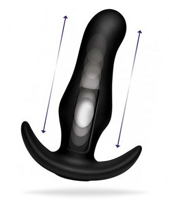 Thump-It - Curved Silicone Butt Plug